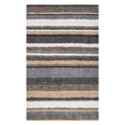 nuLOOM Classic Stripe Shag Rug