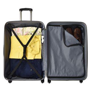 U.S. Traveler USB Port EZ-Charge Spinner Luggage