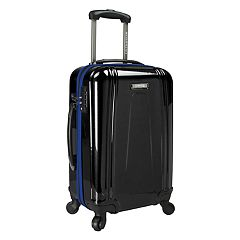 U.S. Traveler USB Port EZ-Charge Carry-On Spinner Luggage