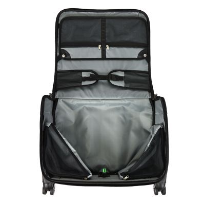 "U.S. Traveler Freetown 21"" Carry-On Spinner Garment Bag"