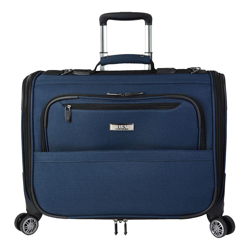 """U.S. Traveler Freetown 21"""" Carry-On Spinner Garment Bag"""