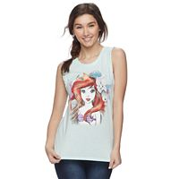 Disney's The Little Mermaid Juniors' Ariel Graphic Tank