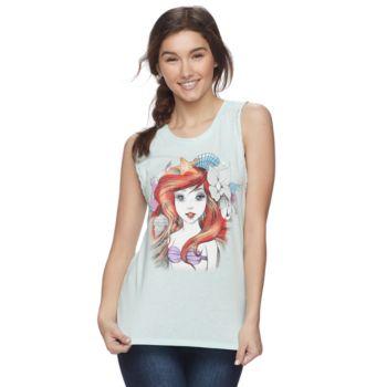 Disney's The Little Mermaid Juniors' Ariel Graphic Tank