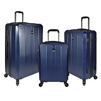 U.S. Traveler Highrock 3-Piece Hardside Spinner Luggage Set