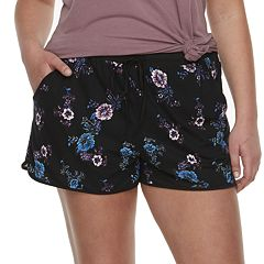 Juniors' Plus Size Mudd® Peached Shorts