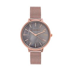 Journee Collection Women's Mesh Watch