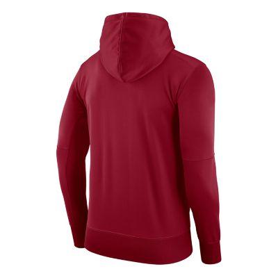 Men's Nike Arkansas Razorbacks Therma Pullover Hoodie