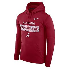 Men's Nike Alabama Crimson Tide Therma Pullover Hoodie