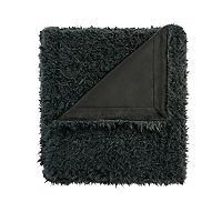 Madison Park Nova Faux Mohair Throw