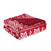 True North by Sleep Philosophy Cozy Plush to Berber Fleece Throw
