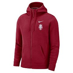 Men's Nike Arkansas Razorbacks Club Fleece Full-Zip Hoodie