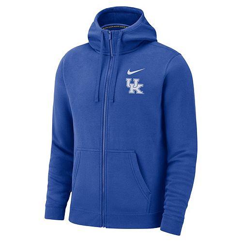 56cfbb6b606 Men s Nike Kentucky Wildcats Club Fleece Full-Zip Hoodie
