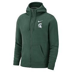 Men's Nike Michigan State Spartans Club Fleece Full-Zip Hoodie