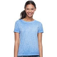 Juniors' Mudd® Crewneck Short Sleeve Tee