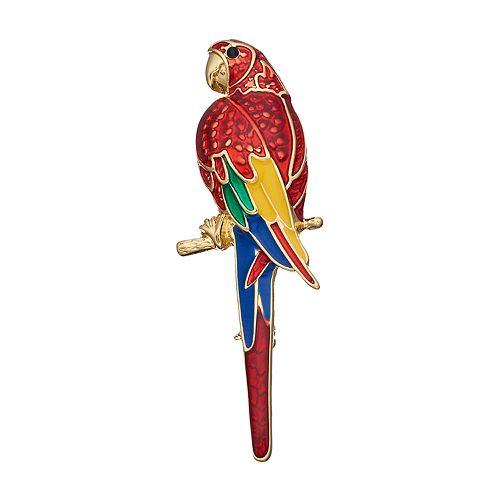 Napier Macaw Parrot Pin