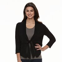 Women's Nina Leonard Tie-Front Bolero