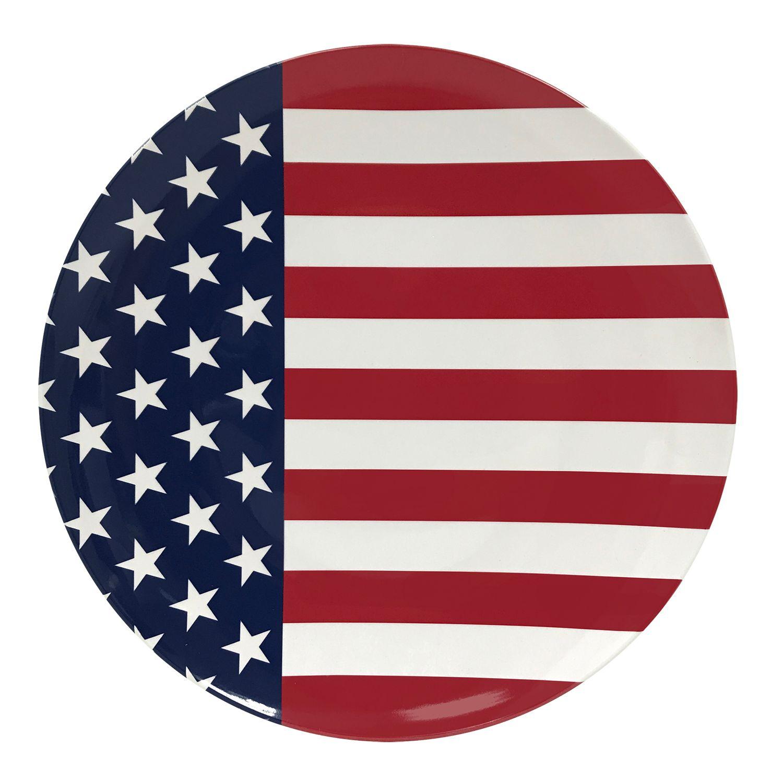 Celebrate Americana Together American Flag Dinner Plate  sc 1 st  Kohl\u0027s & Fiesta Dinner Plate | Kohls