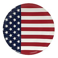 Celebrate Americana Together American Flag Dinner Plate