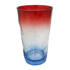 Celebrate Americana Together Red, White & Blue Ombre Acrylic Highball Glass