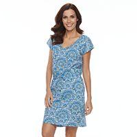 Women's Caribbean Joe Print Sheath Dress