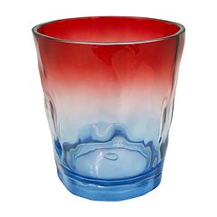 Celebrate Americana Together Red, White & Blue Ombre Acrylic Double Old-Fashioned Glass