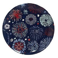 Celebrate Americana Together Fireworks Melamine Salad Plate