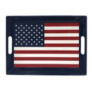 Celebrate Americana Together American Flag Serving Tray
