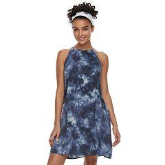 Juniors' Mudd® Halter Swing Dress