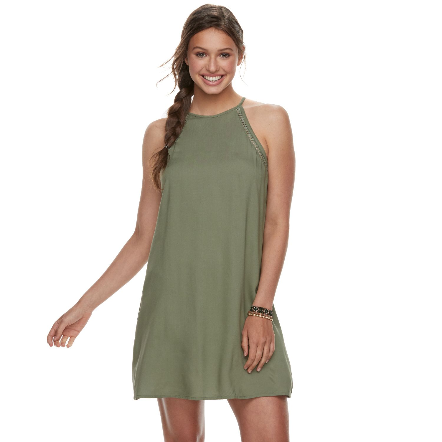 Green Dress for Juniors