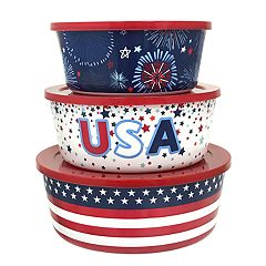 Celebrate Americana Together 3-pc. Stacking Container Set