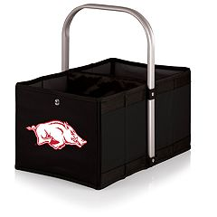 Picnic Time Arkansas Razorbacks Urban Folding Picnic Basket