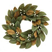 SONOMA Goods for Life™ Artificial Magnolia Leaf Wreath