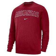 Men's Nike Arkansas Razorbacks Club Sweatshirt