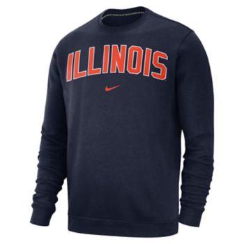 Men's Nike Illinois Fighting Illini Club Sweatshirt