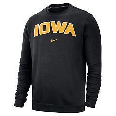 Men's Nike Iowa Hawkeyes Club Sweatshirt