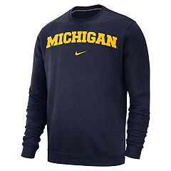 Men's Nike Michigan Wolverines Club Sweatshirt