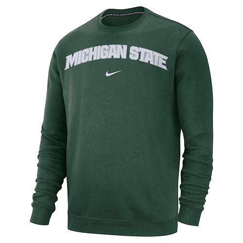 Men's Nike Michigan State Spartans Club Sweatshirt