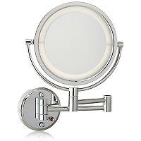 Jerdon LED Direct Wire Makeup Mirror