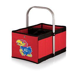 Picnic Time Kansas Jayhawks Urban Folding Picnic Basket