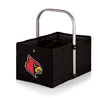 Picnic Time Louisville Cardinals Urban Folding Picnic Basket