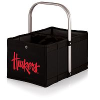 Picnic Time Nebraska Cornhuskers Urban Folding Picnic Basket