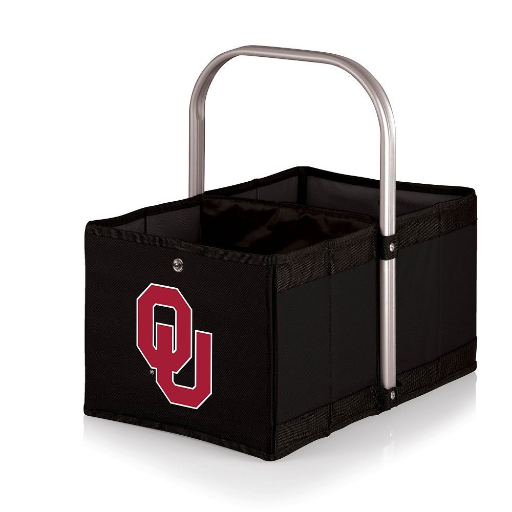 Picnic Time Oklahoma Sooners Urban Folding Picnic Basket