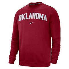 Men's Nike Oklahoma Sooners Club Sweatshirt