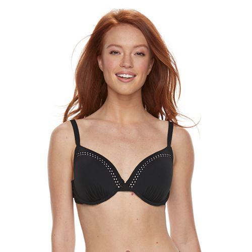Women's Apt. 9® Bust Enhancer Push-Up Triangle Bikini Top