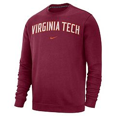Men's Nike Virginia Tech Hokies Club Sweatshirt