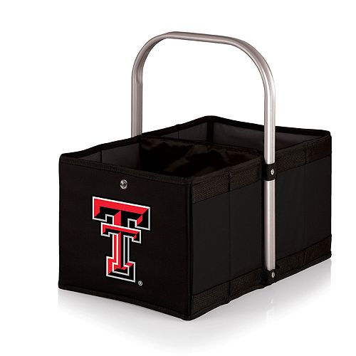 Picnic Time Texas Tech Red Raiders Urban Folding Picnic Basket