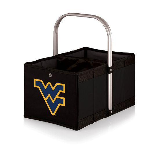 Picnic Time West Virginia Mountaineers Urban Folding Picnic Basket