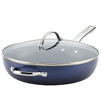 Farberware Luminescence 12-in. Nonstick Deep Skillet