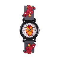 Marvel The Avengers Assemble Iron Man Kids' Time Teacher Watch