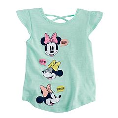 Disney's Minnie Mouse Toddler Girl Flutter-Sleeved Tee by Jumping Beans®